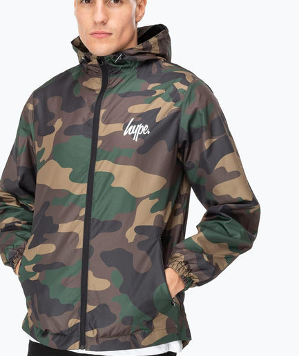 HYPE CAMO CORE MEN'S RUNNER JACKET