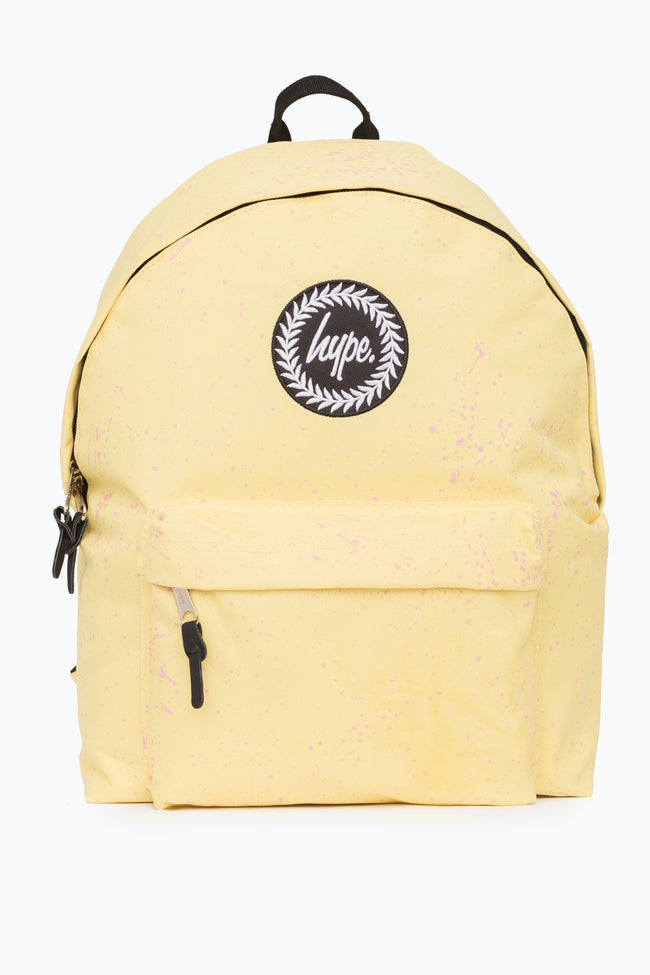 HYPE LEMON WITH PINK SPECKLE BACKPACK