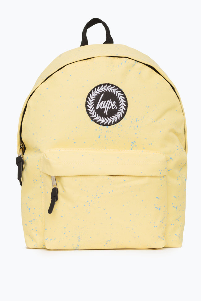 HYPE LEMON WITH BLUE SPECKLE BACKPACK