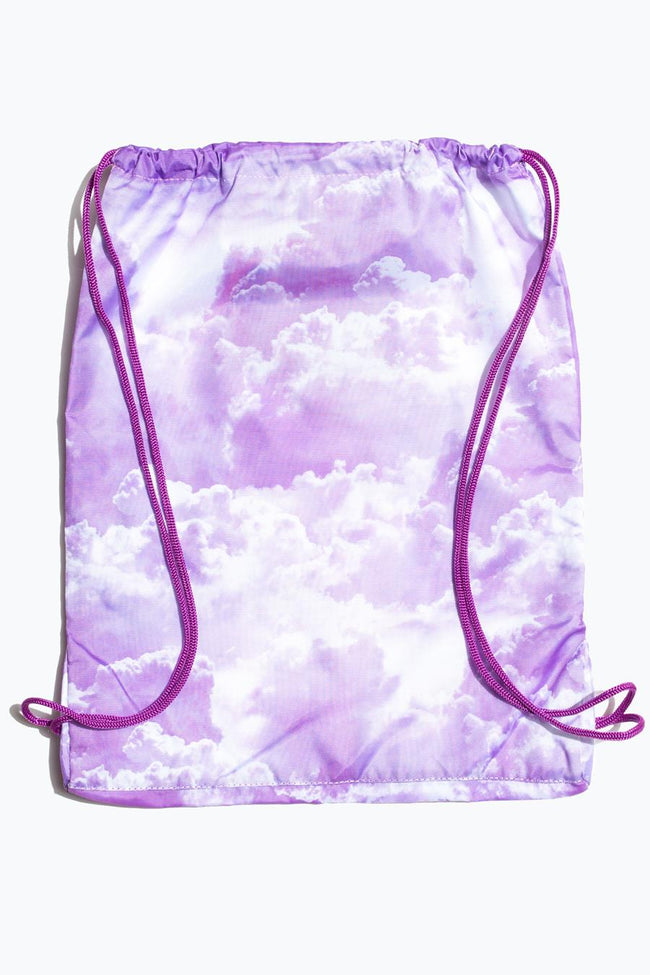 HYPE PURPLE CLOUDS DRAWSTRING