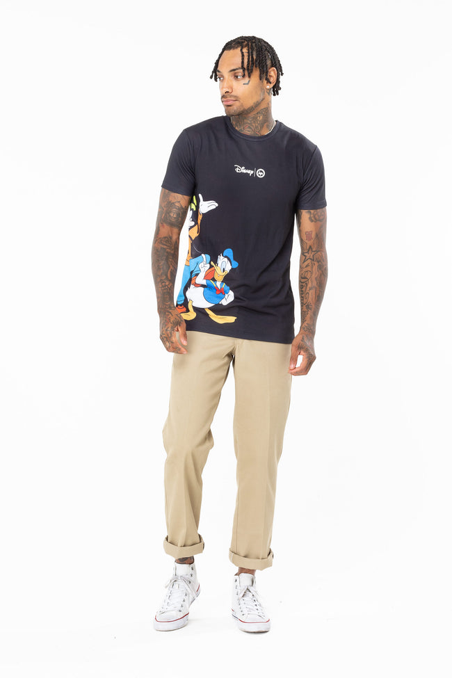 HYPE DISNEY BLACK SQUAD CREST MEN'S SUB T-SHIRT