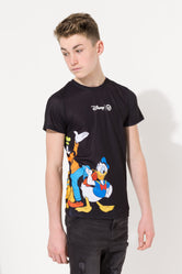 HYPE DISNEY BLACK SQUAD CREST KIDS SUB T-SHIRT