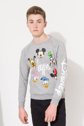 HYPE DISNEY GREY CAST SCRIPT KIDS CREWNECK