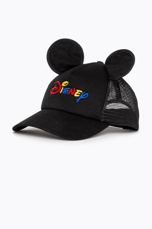 HYPE DISNEY BLACK MICKEY EARS TRUCKER HAT
