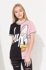 HYPE DISNEY BLACK DAISY SPLICE KIDS T-SHIRT