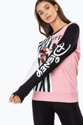 HYPE DISNEY LOVER SPLICE WOMEN'S CREWNECK