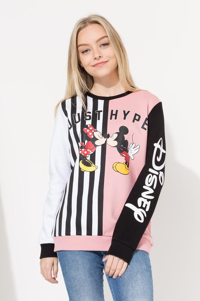 HYPE DISNEY LOVER SPLICE KIDS CREW NECK