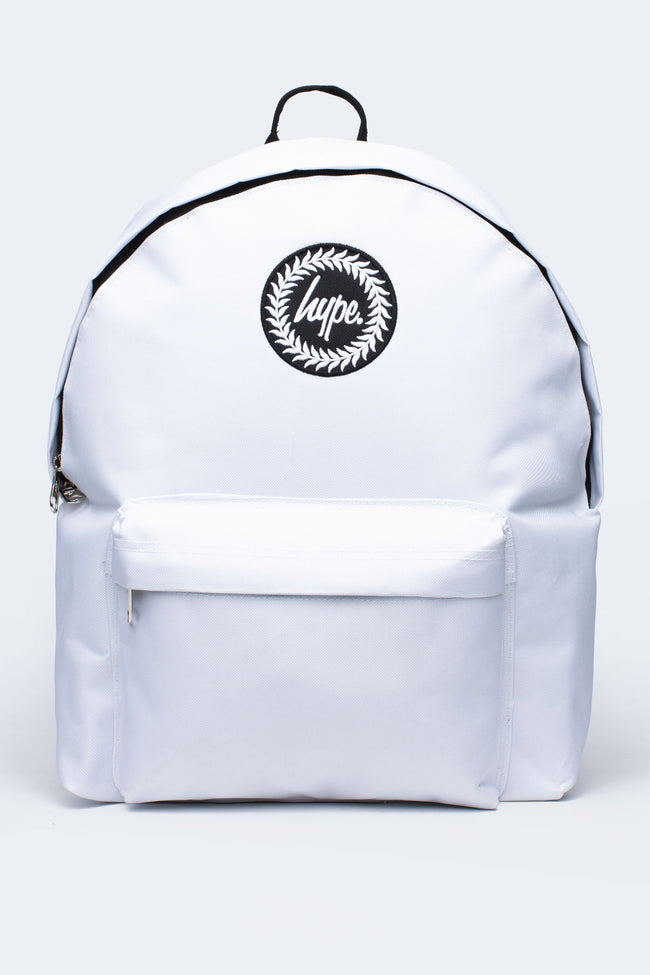 HYPE WHITE BADGE BACKPACK