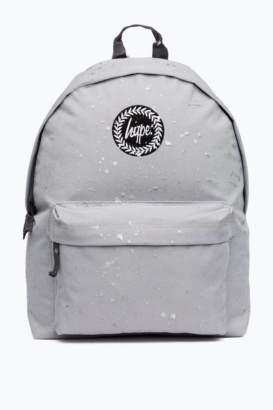 af5949de45cc HYPE PLATINUM WITH SILVER SPECKLE BACKPACK – JustHype ltd