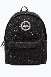 HYPE BLACK WITH WHITE AND REFLECTIVE SPECKLE BACKPACK