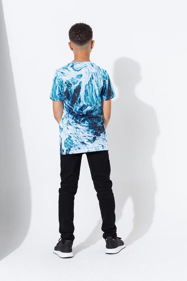 HYPE BLUE WAVE KIDS T-SHIRT