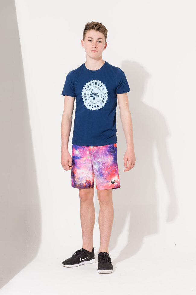 HYPE SPACE STORM KIDS SWIM SHORTS