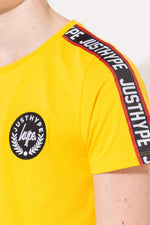 HYPE YELLOW TAYLOR TAPE KIDS T-SHIRT