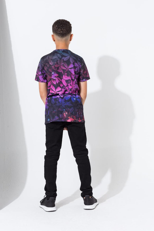 HYPE MULTI COSMIC LEAF BOYS T-SHIRT