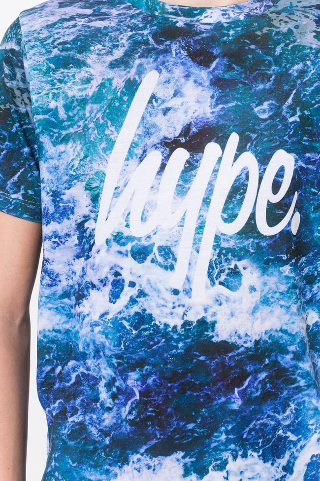 HYPE SEA FOAM BOYS T-SHIRT