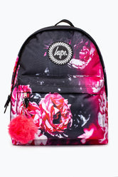 HYPE RED FLORAL BACKPACK