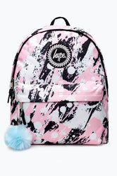 HYPE PINK BRUSHED BACKPACK
