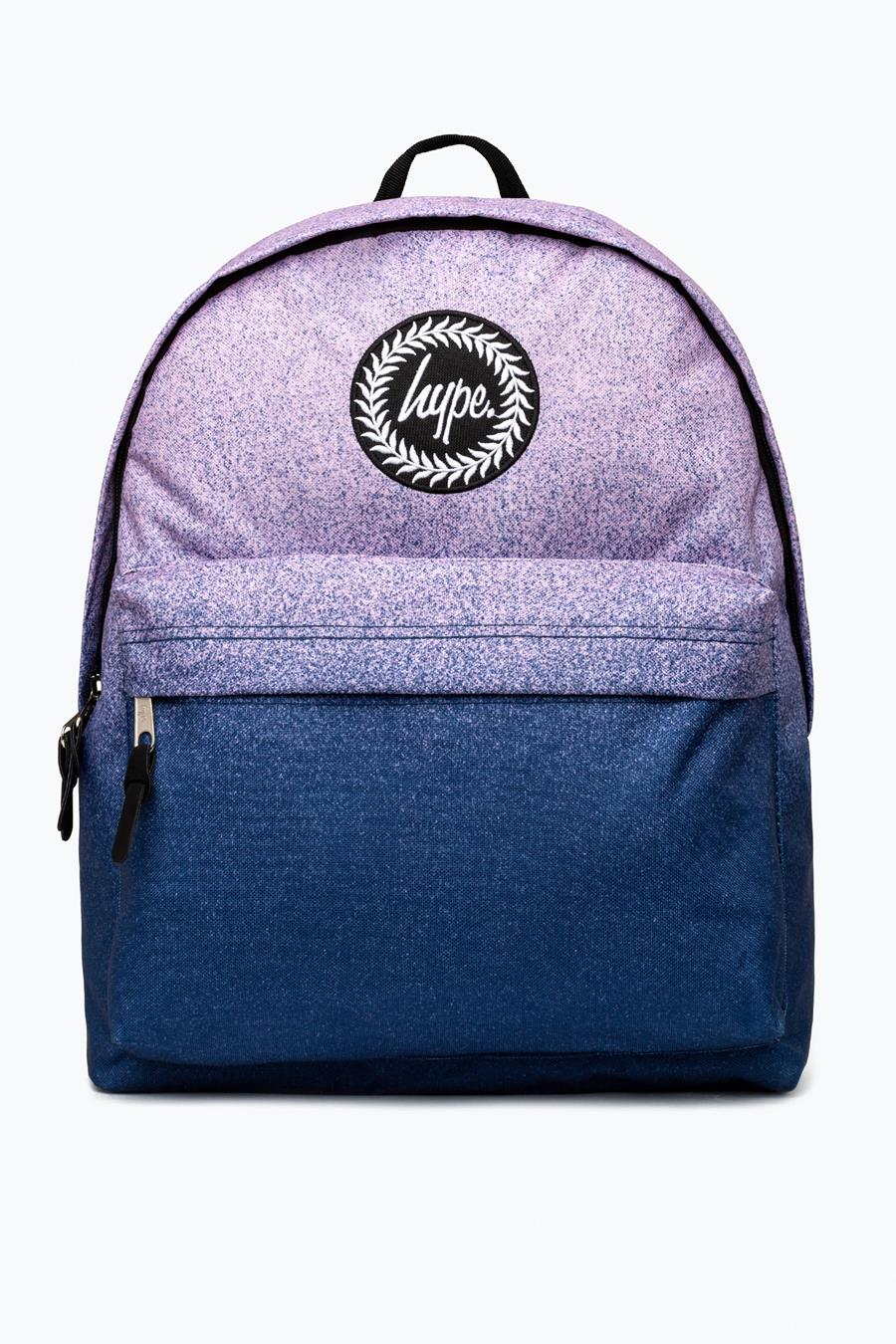 HYPE NAVY PINK FADE BACKPACK