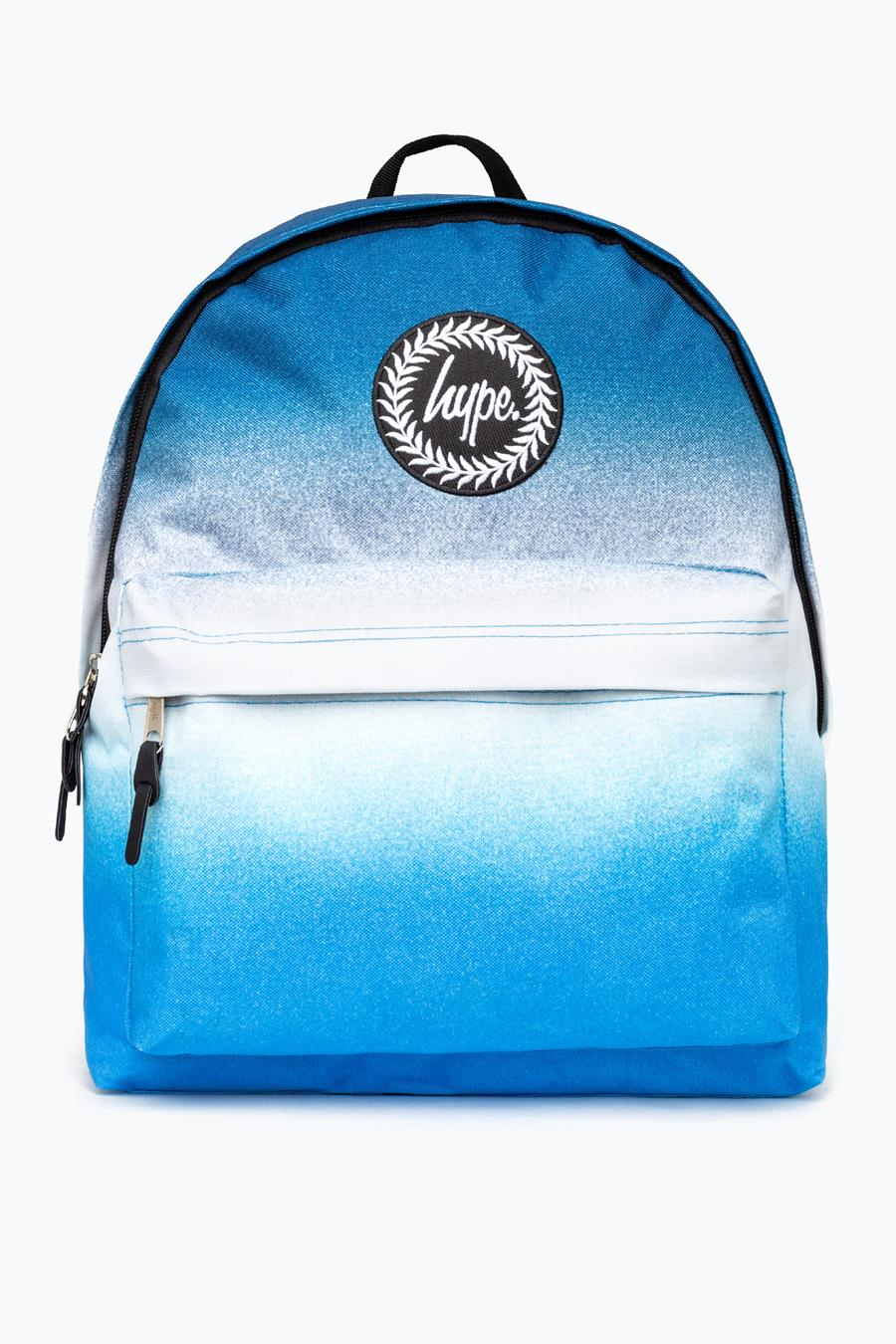 new style clearance sale promo code HYPE BLUE DOUBLE FADE BACKPACK | Justhype ltd
