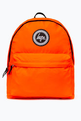 HYPE ORANGE FLURO BACKPACK