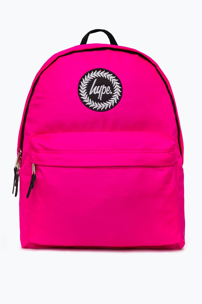 HYPE PINK FLURO BACKPACK