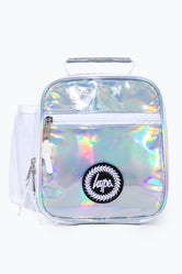 HYPE SILVER HOLO LUNCH BOX