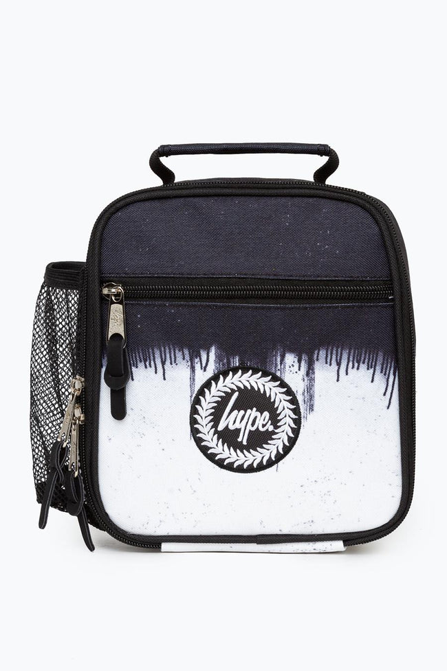 HYPE BLACK DRIP SPECKLE LUNCH BOX