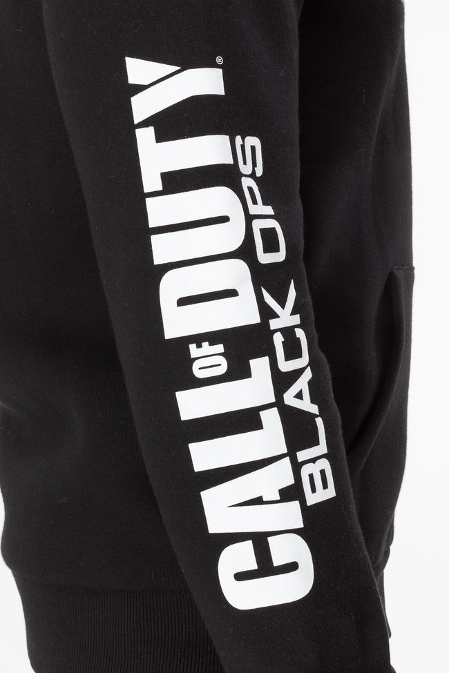 HYPE x COD BLACK BLACK OPS TECH MENS ZIP HOODIE