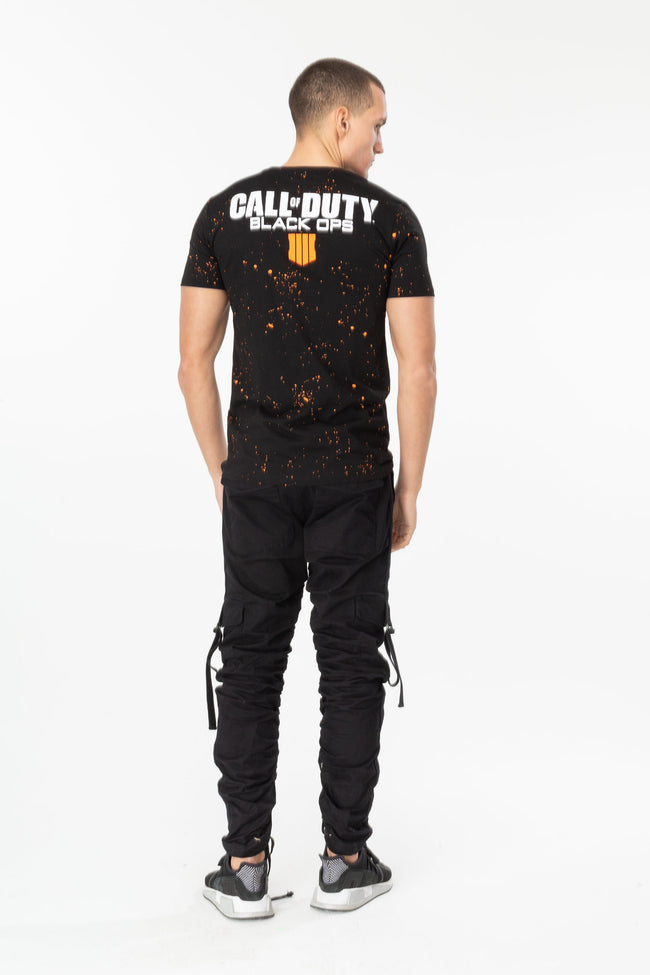 HYPE x COD BLACK BLACK OPS SPECKLE MENS T-SHIRT