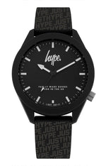 HYPE BLACK AND GREY JUSTHYPE WATCH