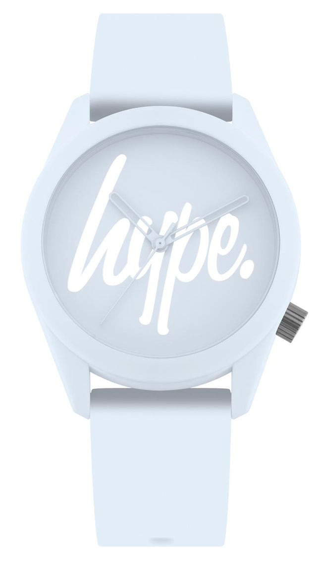 HYPE BABY BLUE SCRIPT WATCH