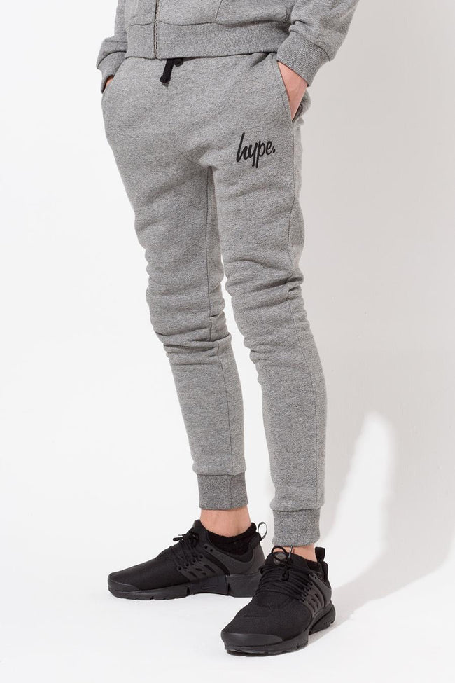 HYPE GREY MOULINE KIDS JOGGERS