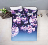 HYPE ROSE FADE DOUBLE BEDDING SET