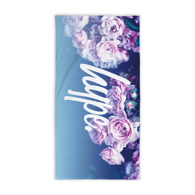 HYPE ROSE FADE TOWEL