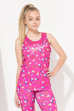 HYPE PINK STUDIOS ABSTRACT GIRLS VEST