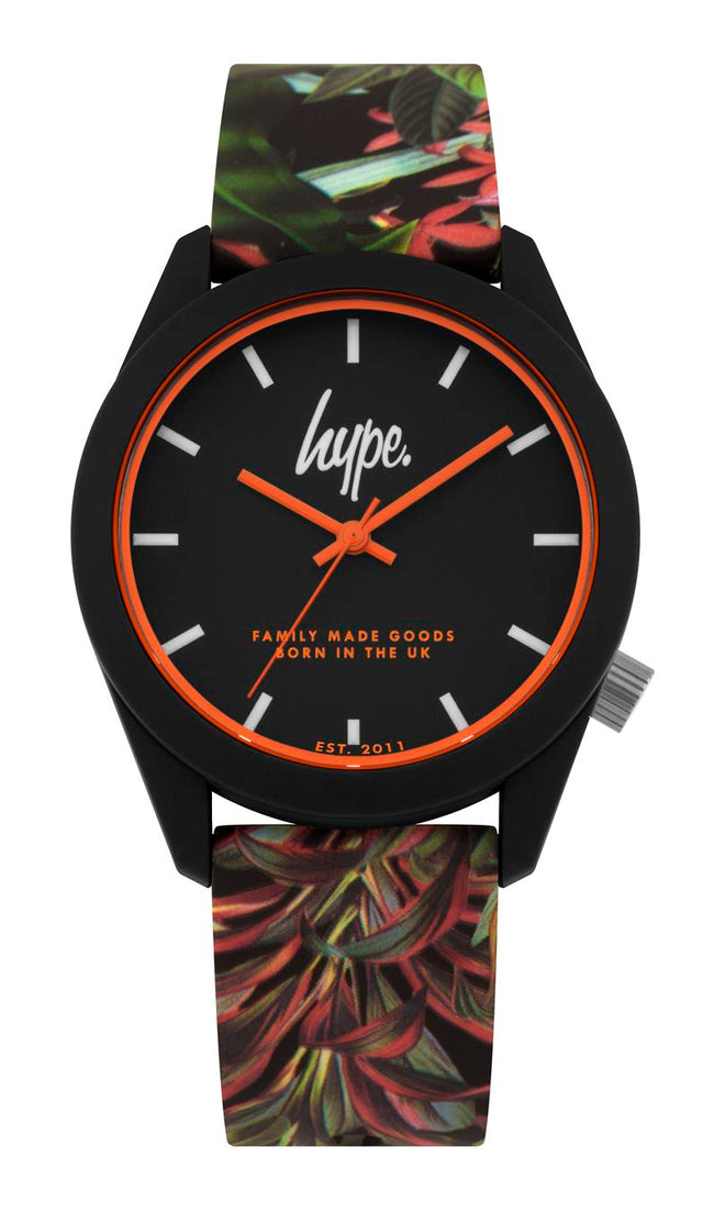 HYPE FLORAL KIDS WATCH