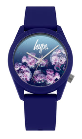 HYPE NAVY ROSE FADE WATCH