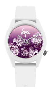 HYPE WHITE ROSE FADE KIDS WATCH