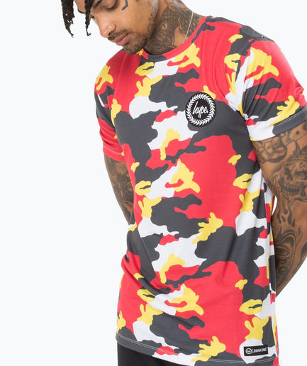 HYPE JURASSIC CAMO MEN'S T-SHIRT