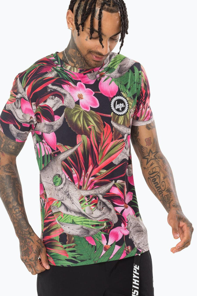 HYPE JURASSIC HAWAIIAN MENS T-SHIRT