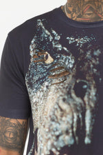 HYPE BLACK T-REX MENS T-SHIRT