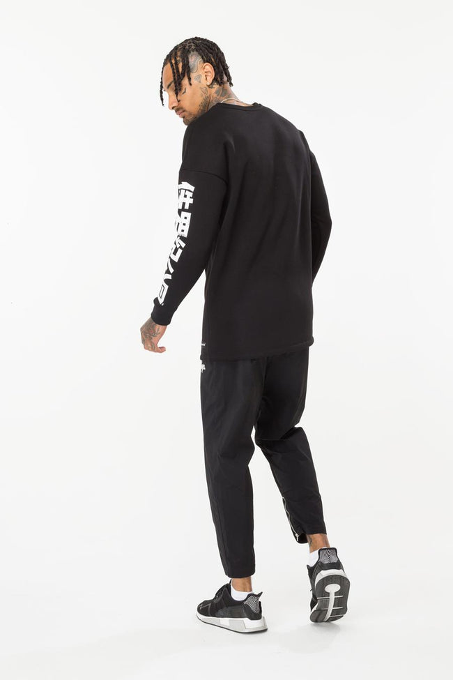 HYPE BLACK WORLDWIDE MEN'S CREWNECK