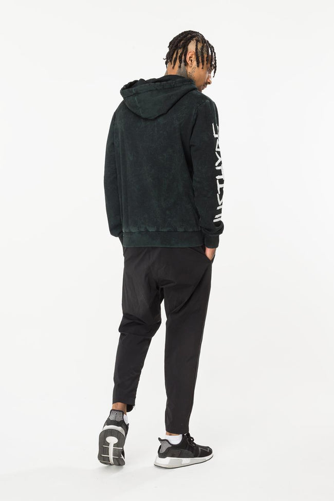 HYPE GREEN JUNGLE MENS PULLOVER HOODIE