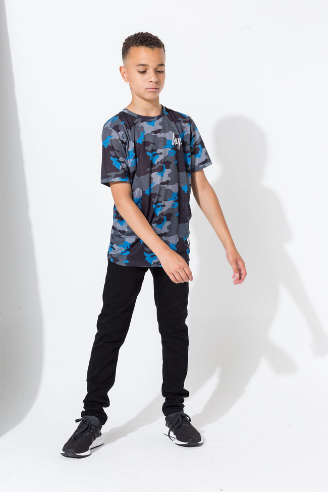HYPE WORLD CAMO BOYS T-SHIRT