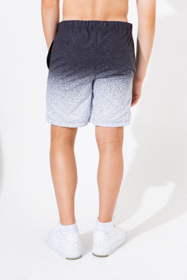 HYPE SPECKLE FADE KIDS SWIM SHORTS