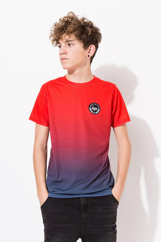 HYPE RED FADE BOYS T-SHIRT