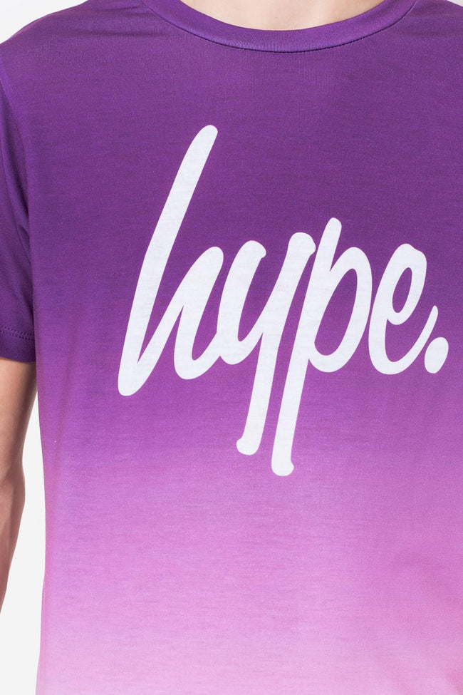 HYPE PURPLE GRADIENT BOYS T-SHIRT