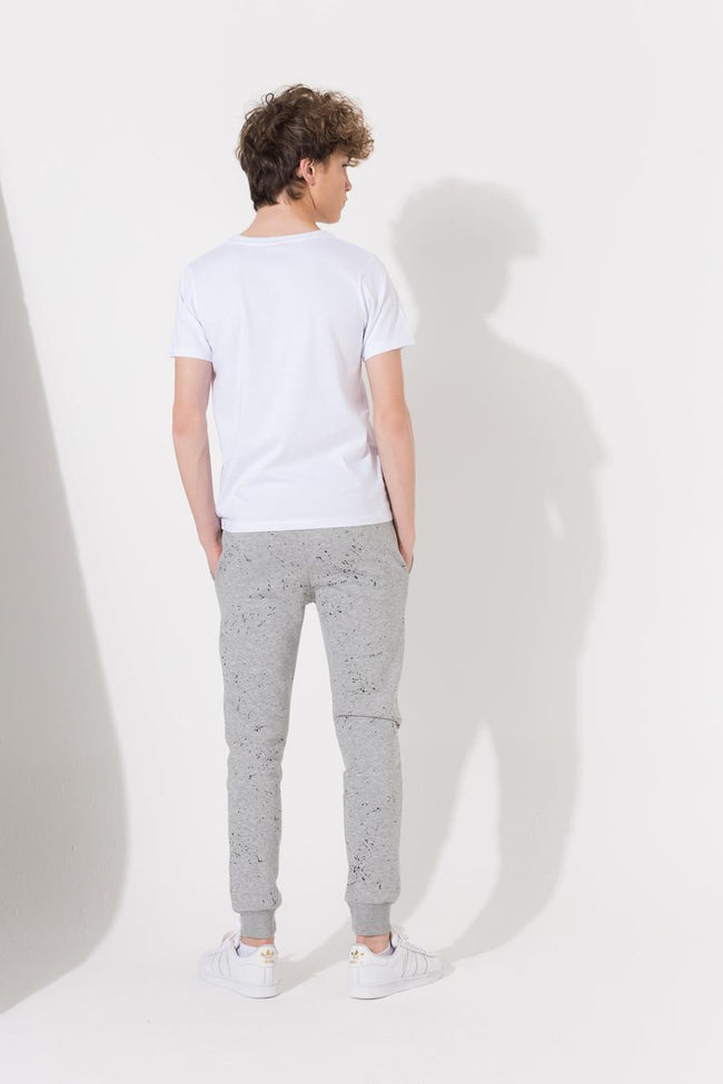 HYPE GREY SPECKLE CREST KIDS JOGGERS