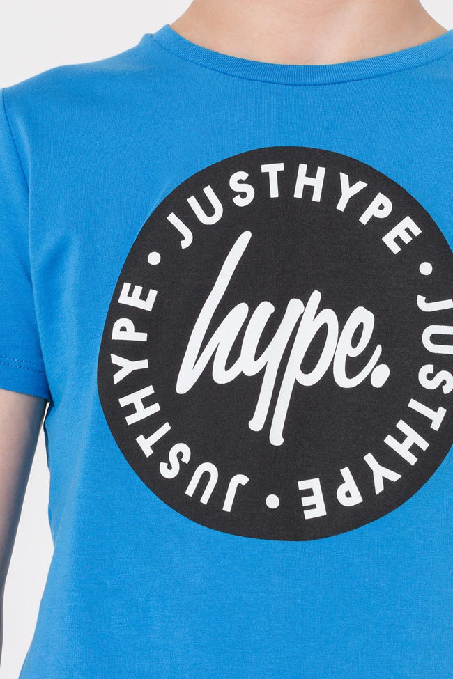 HYPE BLUE LOCK UP SCRIPT KIDS T-SHIRT