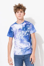 HYPE NAVY SPACE KIDS T-SHIRT